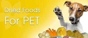 Dried Foods For PET