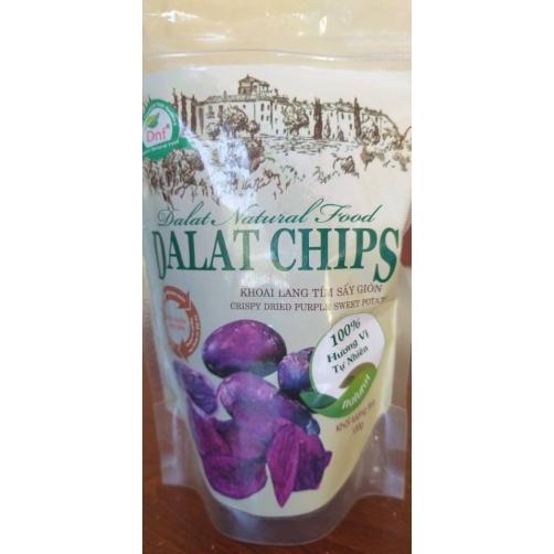 Crispy Vacuum Fried Purple Sweet Potato