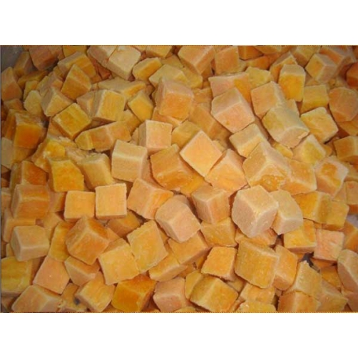 Frozen Boiled Local Sweet Potato Dice Cut