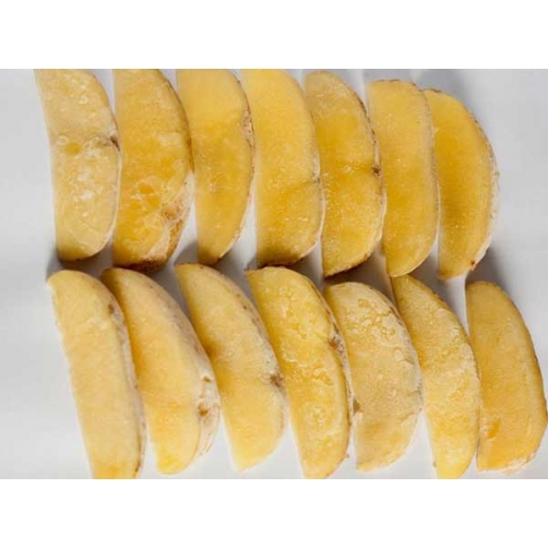 Frozen Boiled Potato Half-moon Cut
