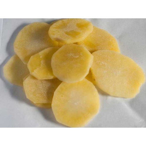 Frozen Boiled Potato Slice Cut