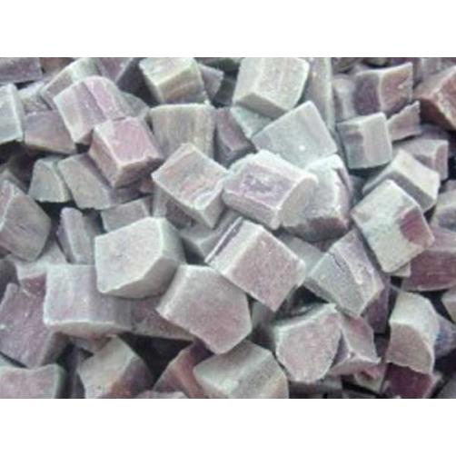Frozen Boiled Purple Sweet Potato Dice Cut
