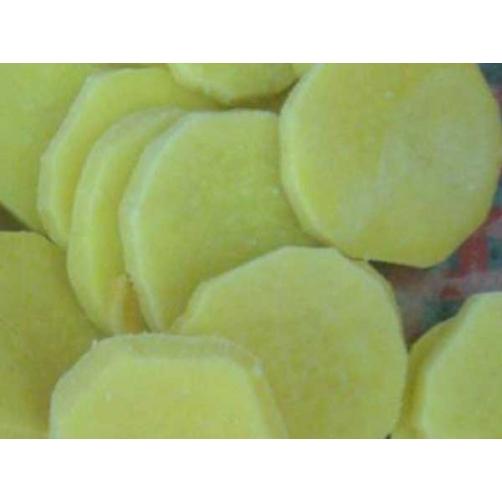 Frozen Boiled Sweet Potato Slice Cut No Skin