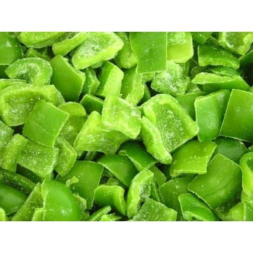 Frozen Green Pepper Dice Cut
