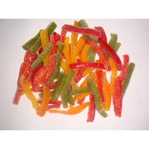 Frozen Green Pepper / Red Pepper / Yellow Pepper Stick Cut