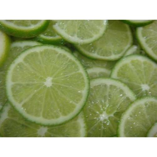 Frozen Lemon Slice Cut