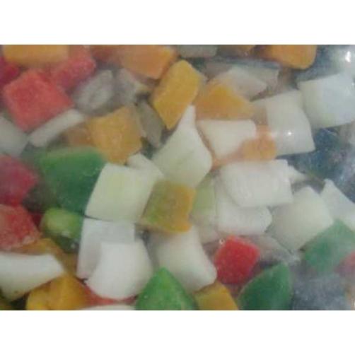 Frozen Mixed Vegetables ( Green Pepper, Red Pepper, Yellow Pepper, Egg Plant, Onion, Zucchini, Pumpkin)