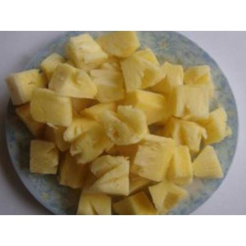 Frozen Pineapple Dice Cut