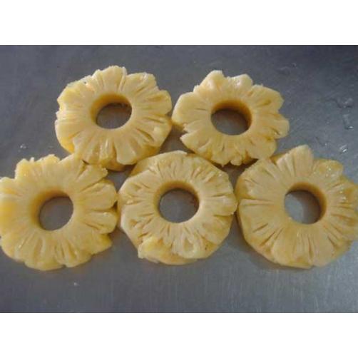 Frozen Pineapple slice round Cut
