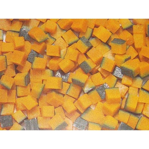 Frozen Boiled Japanese Pumpkin Dice Cut