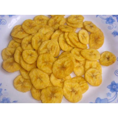 Crispy Vacuum Fried Banana Slice Cut
