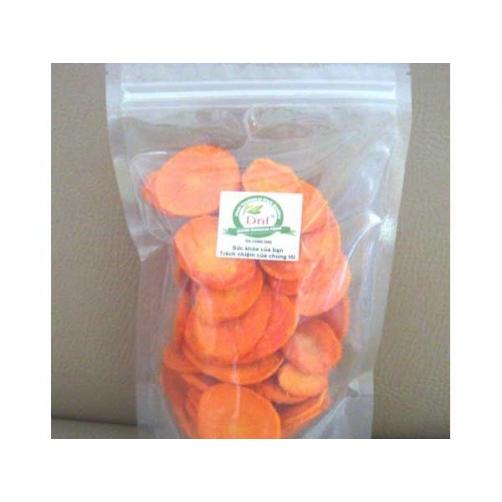 Crispy Vacuum Fried Carrot