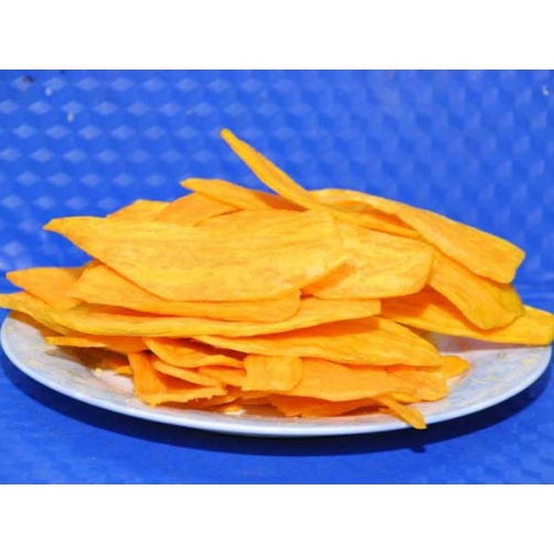 Crispy Vacuum Fried Local Sweet Potato Slice Cut